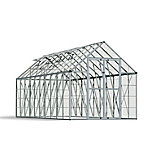 Palram Snap & Grow 8 ft. x 20 ft. Hobby Greenhouse, Silver