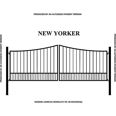 Gate Builders New Yorker, 16 ft.