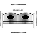 Gate Builders Floridian, 16 ft. with Oval Inserts