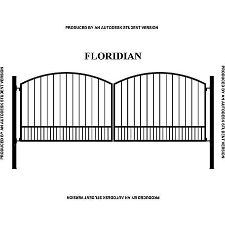 Gate Builders Floridian, 16 ft.