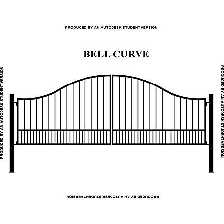 Gate Builders Southern Belle Curve, 16 ft.