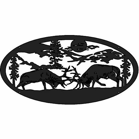 Gate Builders 5 ft. Oval Insert, Deer