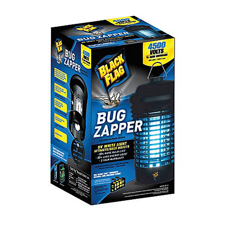 Black Flag 4500 Volt 15 Watt Bug Zapper, Includes Lure, BZ-15