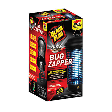 Black Flag 40W Bug Zapper with Black Bulb