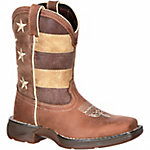 Durango Lil' Rebel Little Kid's Faded Glory Flag Western Boot
