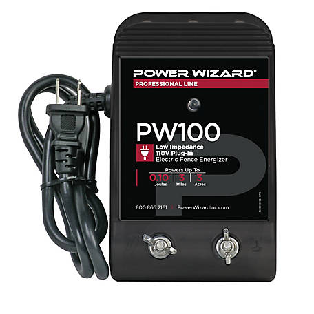 Power Wizard PW100 Electric Fence Controller