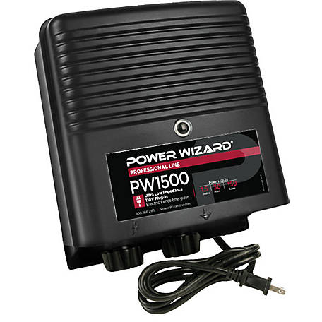 Power Wizard PW1500 Electric Fence Controller