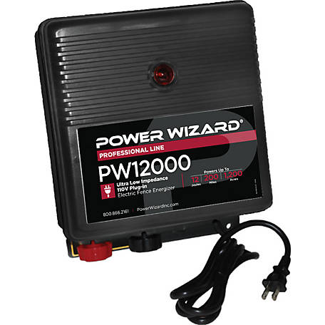 Power Wizard PW12000 Electric Fence Controller