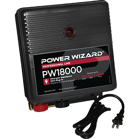 Power Wizard PW18000 Electric Fence Controller