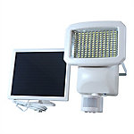 Nature Power 144-LED Solar Powered Motion Activated Security Light, 1500 Lumens