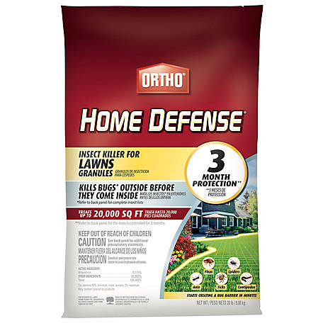 Ortho Ortho Home Defense Insect Killer for Lawns Granules, 0167210