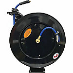 JobSmart 3/8 in. x 75 ft. Spring Driven Air Hose Reel