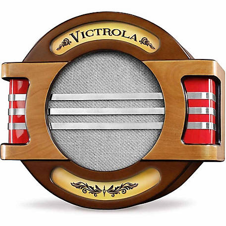 Victrola Rechargeable Wood Vintage Wall Speaker with Bluetooth