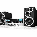 Innovative Technology Classic 50W CD Stereo System with Bluetooth and VU Meters