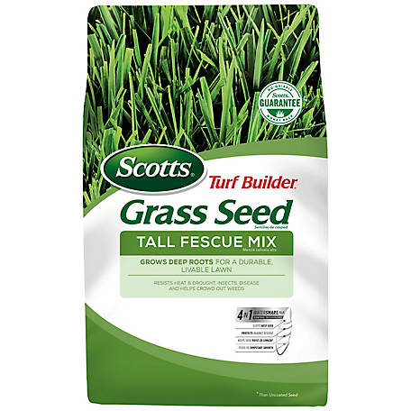 Scotts Turf Builder Grass Seed Tall Fescue Mix 7 lb., 18346