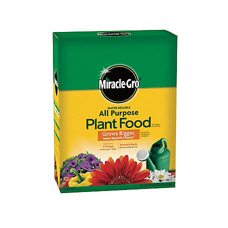 Miracle-Gro Water Soluble All Purpose Plant Food, 1001193