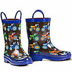 Double Barrel Kids' Kye Tractor Rain Boot