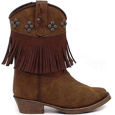 056a479a0c5 Blazin Roxx Girl's Annabelle Fringe Snip Toe Toddler Boot at Tractor Supply  Co.