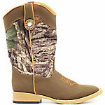 Double Barrel Boy's Buckshot Square Toe Zip Boot