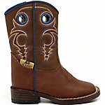 Double Barrel Boy's Dylan Square Toe Toddler Zip Boot