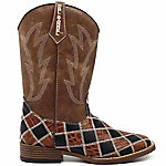Double Barrel Boy's Andy Square Toe Boot
