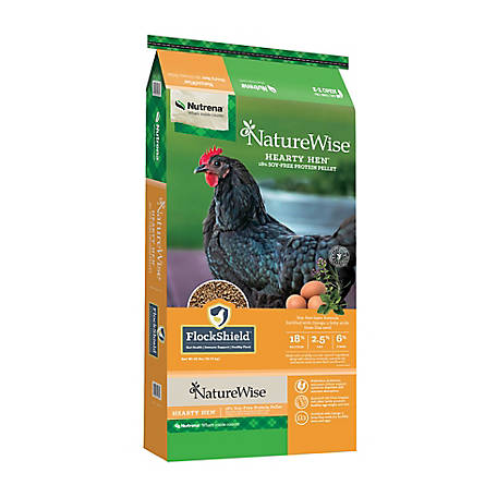 Nutrena NatureWise Hearty Hen Layer Pellet 40 lb., 91057