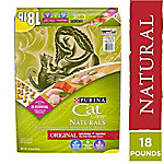 Purina Cat Chow Naturals Original Plus Vitamins & Minerals Cat Food, 18 lb. Bag