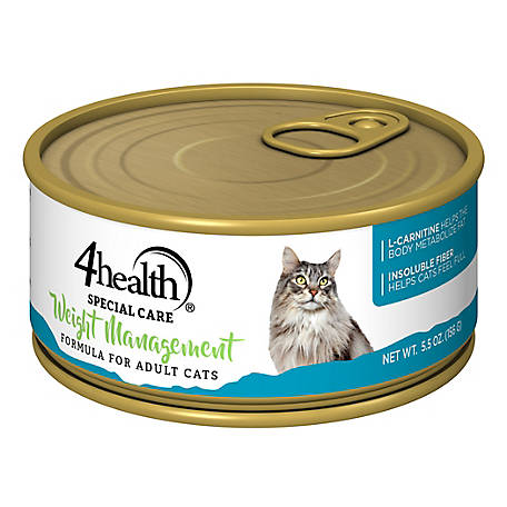 4health Special Care Weight Management Formula for Adult Cats, 5.5 oz. Can