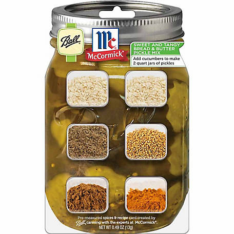 Ball & McCormick Bread & Butter Pickle Mix