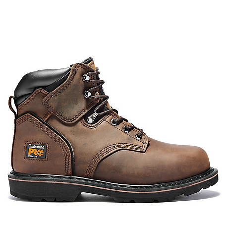 Timberland PRO Men's 6 in. Pit Boss Steel Toe Boot