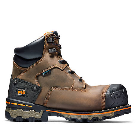 Timberland PRO Men's 6 in. Boondock Composite Toe Waterproof Work Boot
