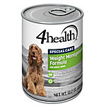 4health Special Care Weight Management Formula for Adult Dogs, 13.2 oz. Can
