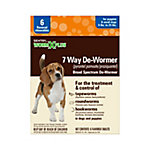 Sentry 7 Way De-Wormer, Small Dog, Pack of 6