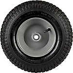 12 in. x 5.00-6 in. Pneumatic Wheels with Turf Tread, 5/8 in. Bore Size