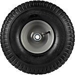 15 in. x 6.00-6 in. Pneumatic Wheels with Turf Tread, 3/4 in. Bore Size