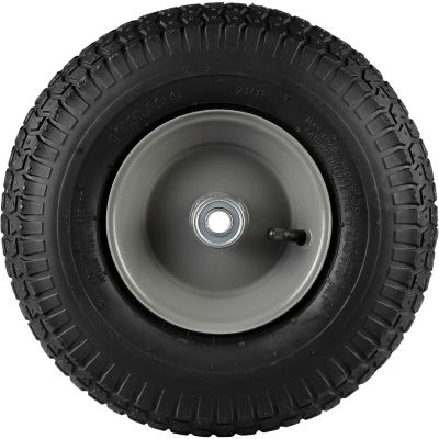 13 in. x 5.00-6 in. Pneumatic Wheels with Turf Tread, 5/8 in. Bore Size | Tuggl