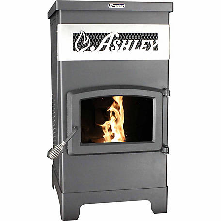 Ashley Slimline Pellet Freestanding 2,200 sq. ft. Stove, AP5770
