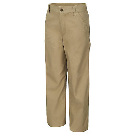 Carhartt Boys' Canvas Dungaree Pants
