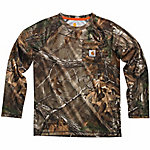 Carhartt Boy's Force Camo Raglan T-Shirt