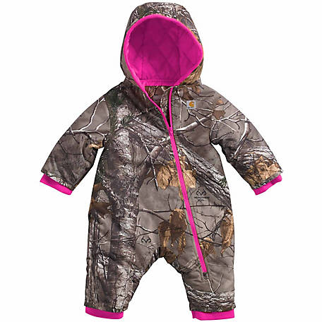 6383d47fb Carhartt Infant Girl's Camo Snowsuit - 1232716 at Tractor Supply Co.