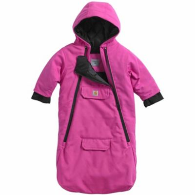 Carhartt Infant Girl's Quick Duck Bunting