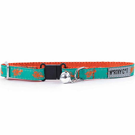 The Worthy Dog Lobsters Cat Collar