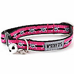 The Worthy Dog Miss Skully Cat Collar