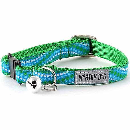 The Worthy Dog Tidal Wave Cat Collar