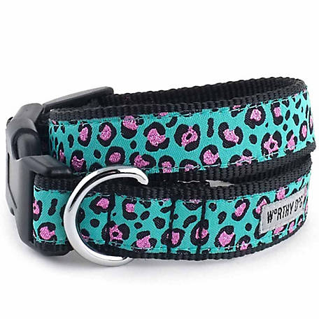 The Worthy Dog Cheetah Dog Collar