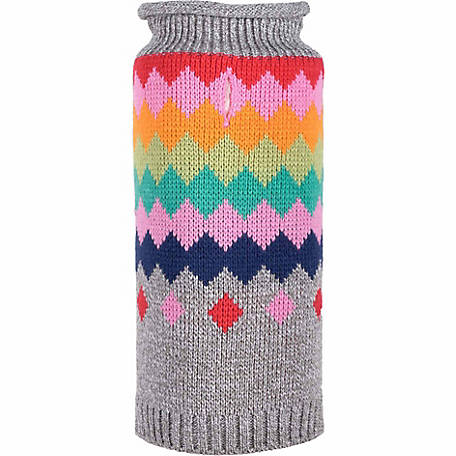 The Worthy Dog Fairisle Argyle Sweater