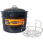 Granite Ware 21.5 qt. Water Bath Canner and Rack, F0707-2