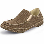 Tony Lama Men's Straw 3R Casuals Canvas Slip-On Shoe