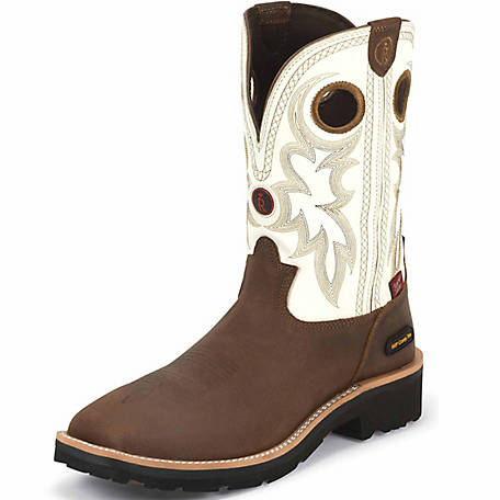 ccee2fe8267 Tony Lama Men's 11 in. Waterproof Composition Toe 3R Collection Boot at  Tractor Supply Co.
