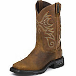 Tony Lama Men's Sierra Badlands TLX Western Work Waterproof Composition Toe Work Boot